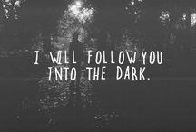 Darker My Love / by Cat Arlein