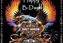 Harley Davidson Birthday Cards