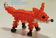 Állatos minták - ha Te is imádod az állatokat:) / Egyszerű és bonyolult minták - mindent meg lehet fűzni gyöngyből