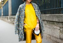 Streetstyle - yellow