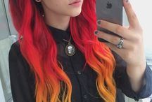 Red Hair Ideas / by Sugar Skull Life