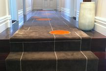 Rugs by Nicola Manning Design / Rugs custom designed for my clients.