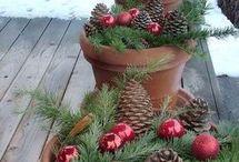 Weihnachtsdeko Balkon und Co