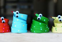 Paper Roll Crafts for Kids / by Annette G