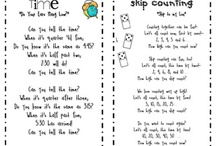 Kindergarten Math: Time / This board includes ideas, activities, and resources for teaching kindergarten math with a focus on time.