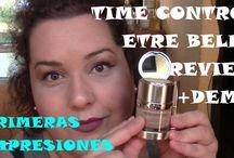 Vídeo-reviews bloggers / Reviews/tutoriales/opiniones de productos de être belle Cosmetics de youtubers