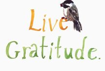 Grateful / We can only be said to be alive in those moments when our hearts are conscious of our treasures. – Thornton Wilder  / by Linda James