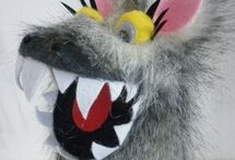 Marionnette et loup