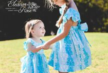 Easter Dresses / Two beautiful dresses for Easter. Each dress is separate and do not belong in a collection together.