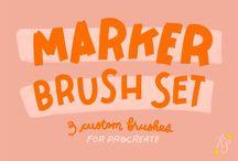 Procreate Brushes (Paid)