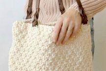 Knitting Patterns- Handbags, Totes, Clutches