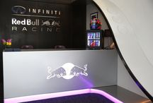 Infiniti Red Bull F1 Paddock Club / Formula One's Infiniti Red Bull Racing approached Pop Store to design a revolutionary hospitality solution for their Paddock Club to be used at 14 of their Formula1 races around the world on the 2013 Circuit.