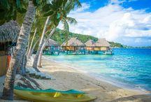 Society Islands / The most beautiful islands on earth where even the names (Bora Bora, Taha'a etc.) sound magical.