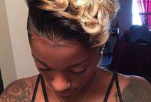 Short Fleeky Hair / cash me on the short side!!