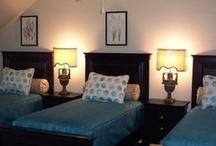 Decor {Basement} / Third floor, downstairs, bottom floor, basement remodel, home décor, family room, guest rooms, etc...