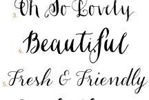 fun flirty fonts