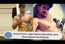 Ricardo Franco niega haberse desnudado ¡pero lanza ataques homofóbicos!