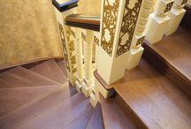 Лестницы AVES interior / Лестницы из дерева по эксклюзивному дизайну от мастерской AVES Interior.