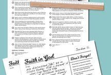 Faith in God Program Ideas