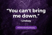 #5Words4Epilepsy / Suppose that you had the opportunity to talk to epilepsy and let it know exactly how you feel in 5 words. What would you say to epilepsy?   Jot it down, text it, get creative with your #5Words4Epilepsy!   Take a photo and send it over to us! Message us, post it on our Facebook wall, tweet us (@TENofficial) or email it to contact@theepilepsynetwork.com.  Your message matters! We want to see your  #5Words4Epilepsy!