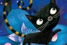 pinturas de gato