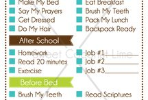 daily planner for kids