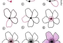Floral drawing