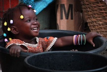 Children in Togo / CIFA helps togolese children in Lomé providing food, a place to stay during the day, informal education