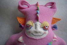 Poppy cats / All wool animals