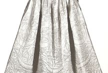 Quilted 18th Century Petticoats / I am only just figuring out the value of Pinterest and it seems to me that it is the fact that you retain the link to the image source that is of the most value.