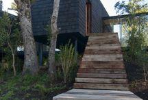 Hus / Spännande hus i natur