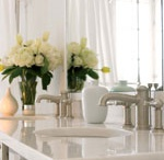 Ginger Bathroom Suites / Ginger produces the finest hand-finished, solid forged brass lighting, mirrors, bathroom accessories, lighting and decorative hardware. GINGER offers over 20 collections of innovative accessories ranging from traditional to iconically modern or sensually classic.