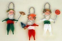 Chenille ornaments / by Sandy Johnson