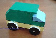Camiones de Madera