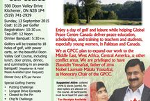 GPCC's Events / The official event page for Global Peace Centre Canada