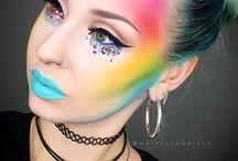 Maquillaje para recrear
