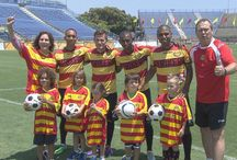 Kids learn about Soccer! / Kids visit the Ft. Lauderdale Strikers to learn about soccer.