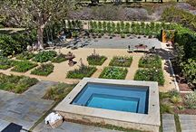 Pool and Spa Inspirations / Make a splash with a pool or spa like this in your backyard!