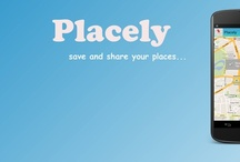 Placely / Placely allows you to save places, share them, advise them to friends and much more…