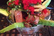 I freakin love sushi / Nigiri and sashimi and rolls, oh my