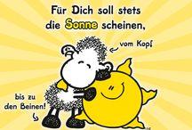 ♧ #Sheepworld - #Trost ~#consolation ☆ #Ermutigung ~ #encouragememt ☆ #für's Herz ~ #for your heart - ☆ #Schönes ~ #beautiful - ☆#Lustig ~ #funny - #Motivation - #motivation / #Sheepworld