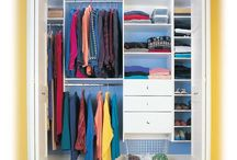 The Affordable Closet / Get inspiring tips on how to #organize any #closet space with #diy projects and some of @closets.com products!