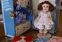 Ginny doll, furniture and clothes