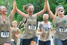 trish / mud running at its best