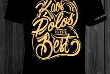Kaos Cotton Combed Murah, Kaos Kerah Distro, Kaos Typography,