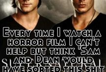 Supernatural, Vampires and all things Spooky / All those shows that people are too scared to watch.