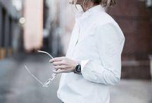Weiße Blusen