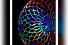 Mandala / Mandala,Digital art using symmetric patterns brush..