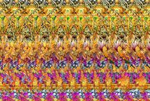 Stereograms / Optical illusion 3D hidden images