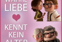 Carl and Ellie from the disney Movie up / Love❤️